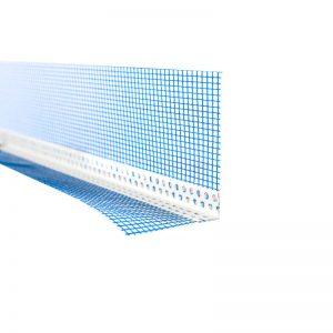 ANGOLARI CON RETE – Profilo angolare in PVC con rete in fibra di vetro ETAG
