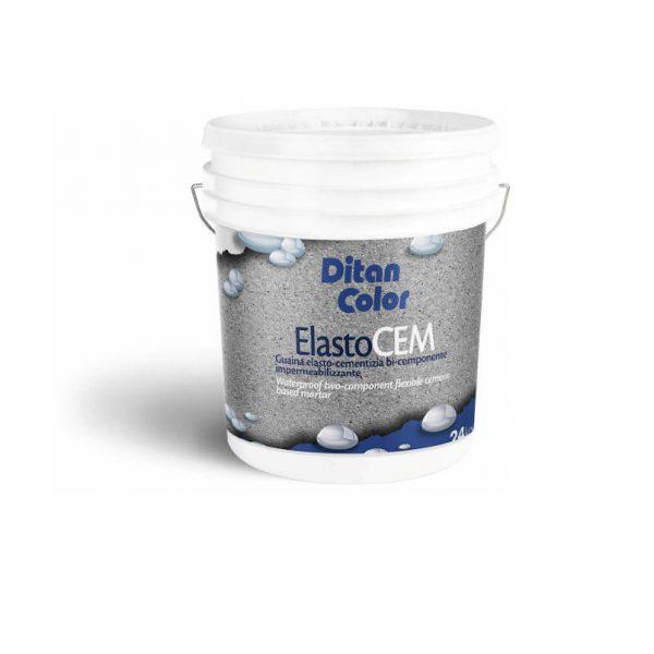 ELASTOCEM - Malta elastocementizia bi-componente impermeabilizzante, in emulsione