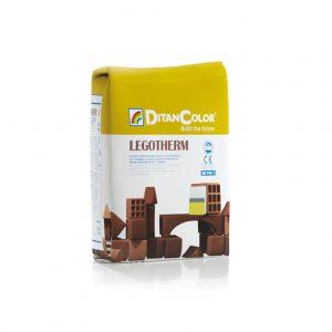 LEGOTHERM - Collante rasante in polvere per sistemi a cappotto ETICS