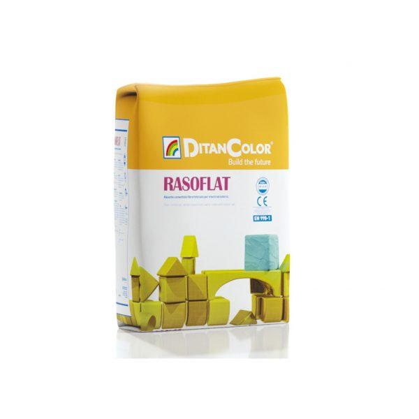 RASOFLAT - Rasante cementizio fibrorinforzato per interni ed esterni