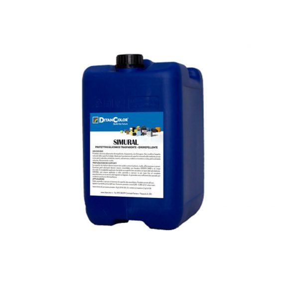 SIMURAL - Idrorepellente trasparente privo di solventi per superfici minerali