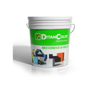 THERMO SIL 1,7 - Rivestimento minerale con microsfere cave di ceramica a base di silicati stabilizzati. Grana grossa