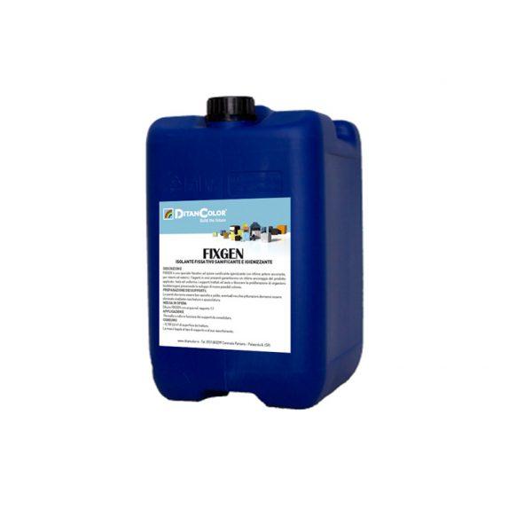 FIXGEN - Isolante fissativo per interni ad azione sanificante-igienizzante