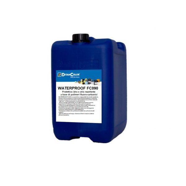 Waterproof fc090-Protettivo-idro-e-olio-repellente-a-base-di-polimeri-fluoro-carbonici